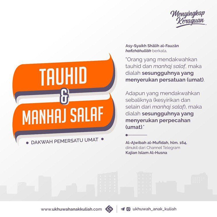Tauhid dan Manhaj Salaf