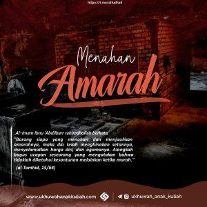 MENAHAN AMARAH